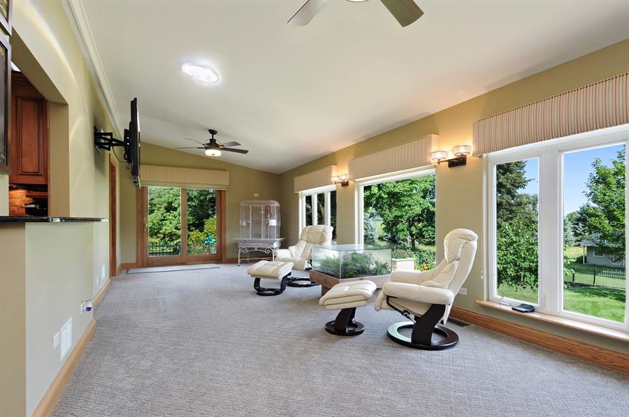 Real Estate Photography - 12461 BRIGHTON Lane, Plainfield, IL, 60585 - Sun Room