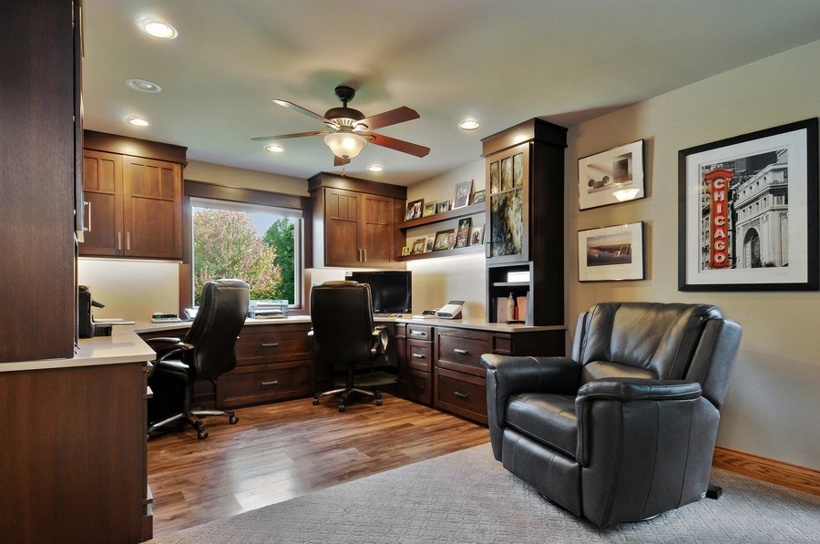 Real Estate Photography - 12461 BRIGHTON Lane, Plainfield, IL, 60585 - Office