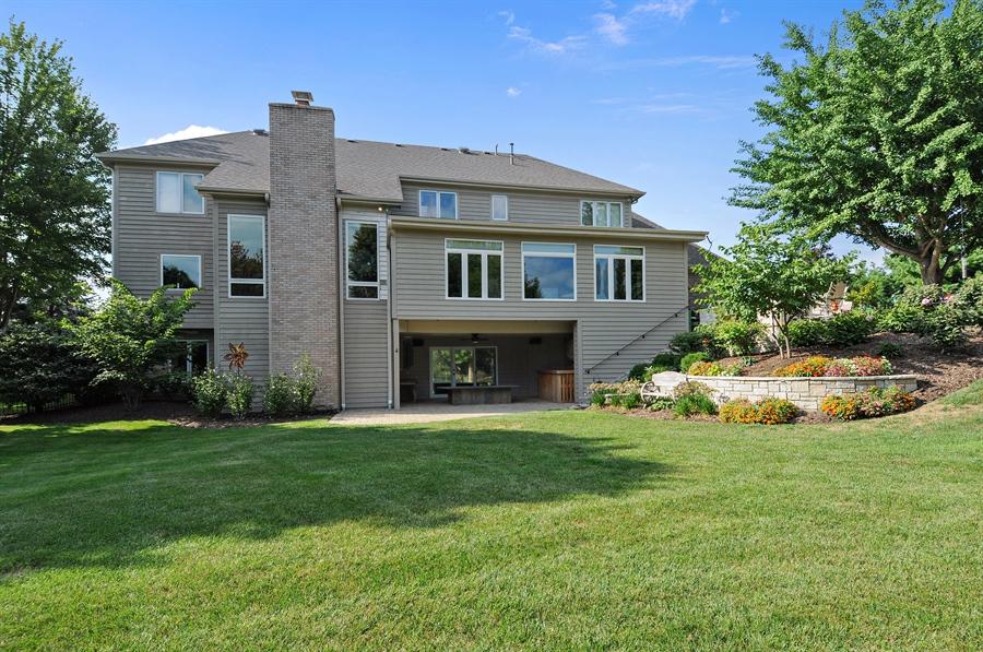 Real Estate Photography - 12461 BRIGHTON Lane, Plainfield, IL, 60585 - Rear View