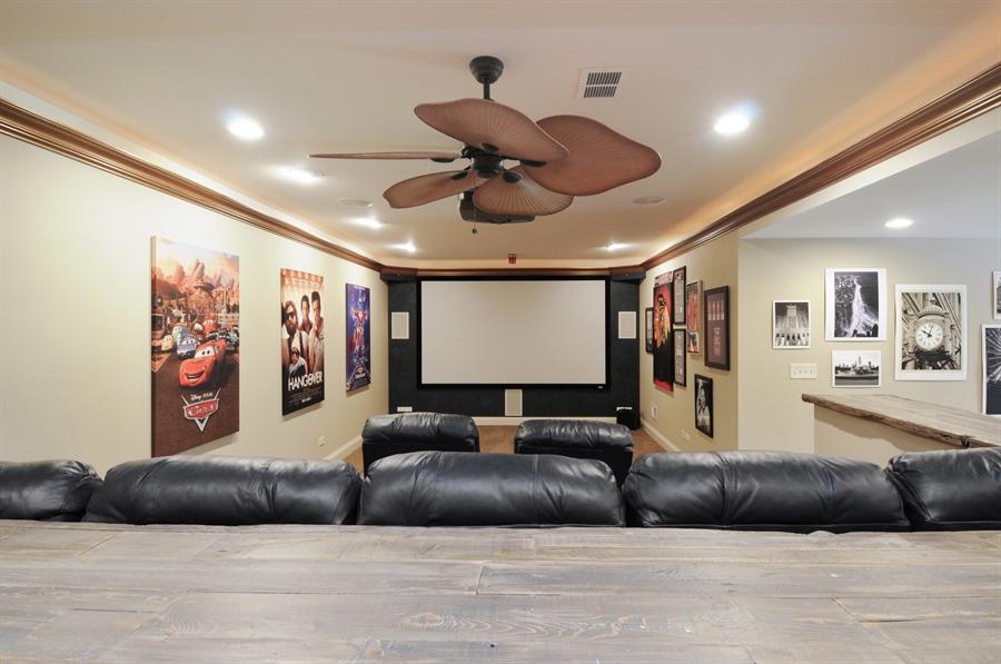 Real Estate Photography - 12461 BRIGHTON Lane, Plainfield, IL, 60585 - Theater