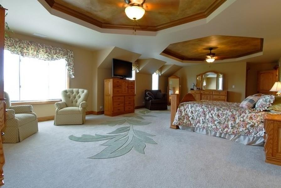 Real Estate Photography - 12461 BRIGHTON Lane, Plainfield, IL, 60585 - Master bedroom