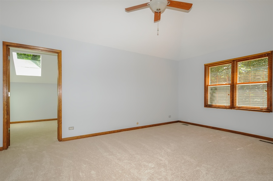 Real Estate Photography - 805 Bonnie Brae Court, Bolingbrook, IL, 60440 - Master Bedroom