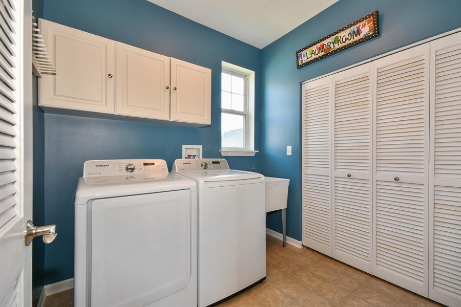 Real Estate Photography - 1820 CHASE Lane, Unit 1820, Aurora, IL, 60502 - Laundry Room