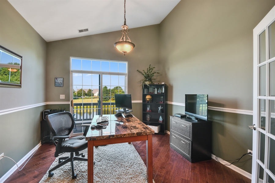 Real Estate Photography - 1820 CHASE Lane, Unit 1820, Aurora, IL, 60502 - Den or 3rd Bedroom
