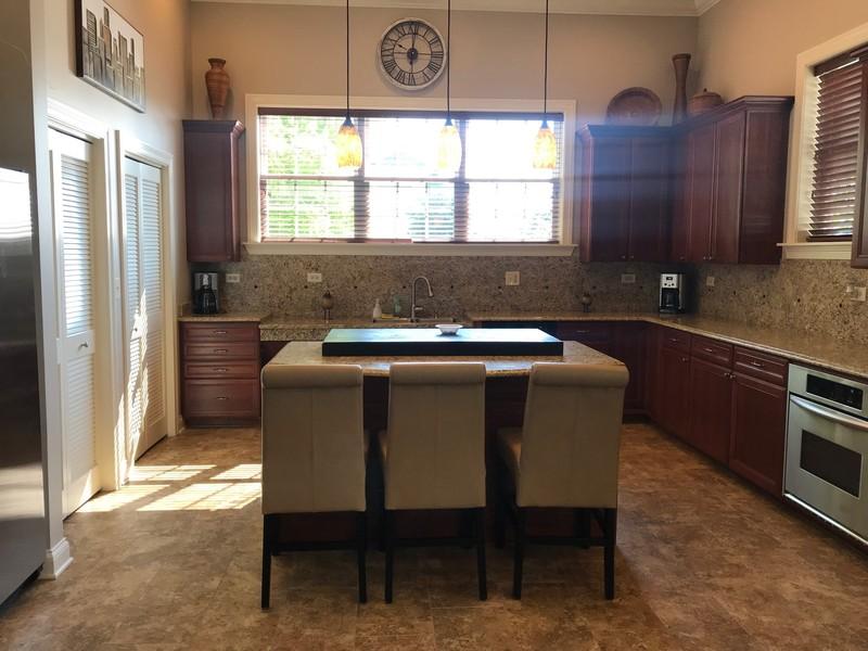 Real Estate Photography - 1820 CHASE Lane, Unit 1820, Aurora, IL, 60502 - Clubhouse Kitchen