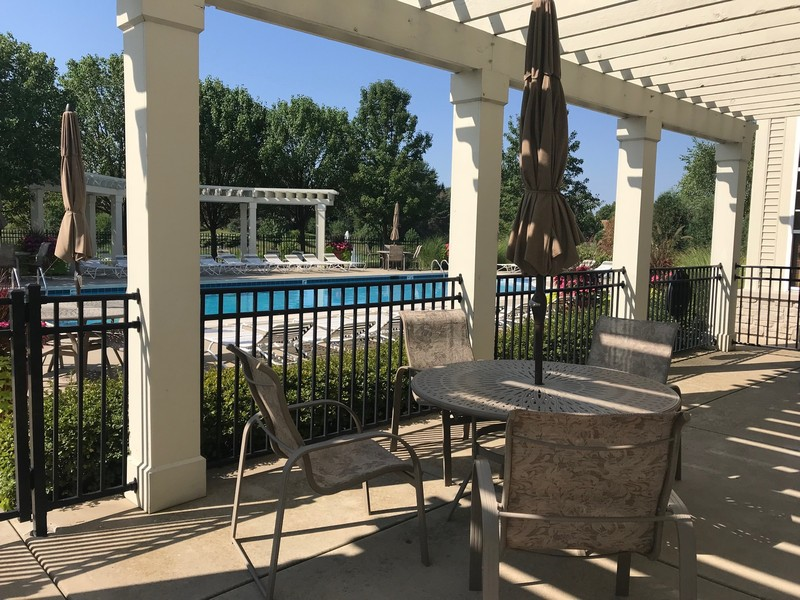 Real Estate Photography - 1820 CHASE Lane, Unit 1820, Aurora, IL, 60502 - Stonegate West Swimming Pool