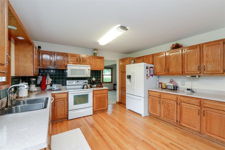 Real Estate Photography - 5695 S. Park Place Drive, Rochelle, IL, 61068 - Kitchen