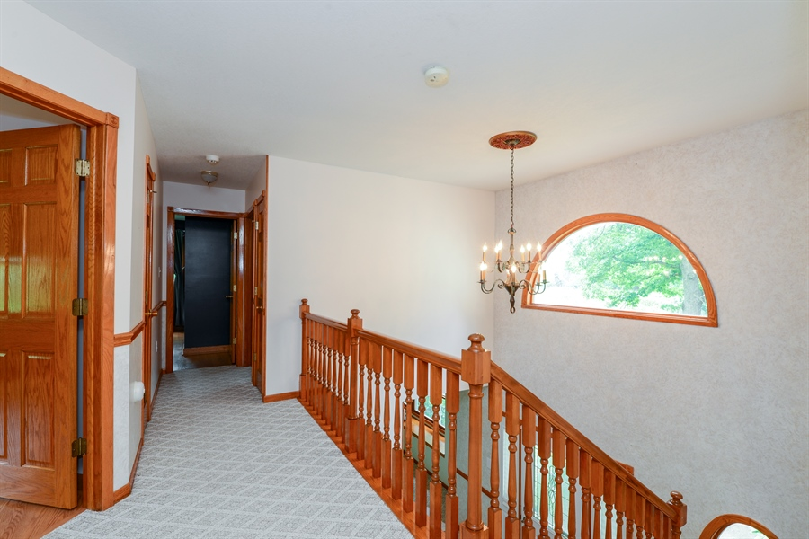 Real Estate Photography - 5695 S. Park Place Drive, Rochelle, IL, 61068 - Hallway