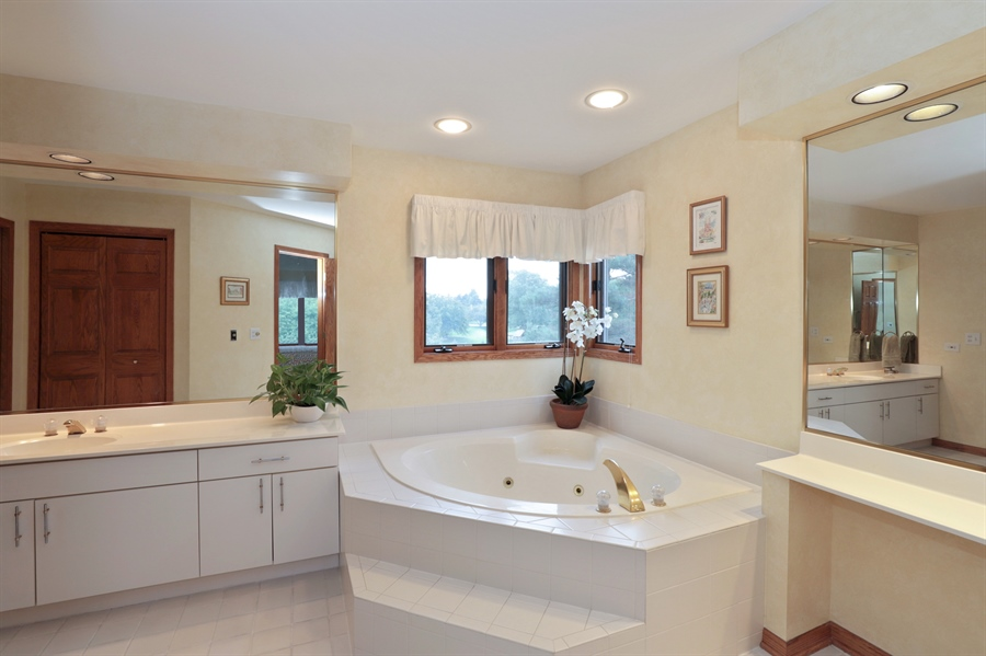Real Estate Photography - 36473 N. Mill Creek Drive, Gurnee, IL, 60031 - Master Bathroom