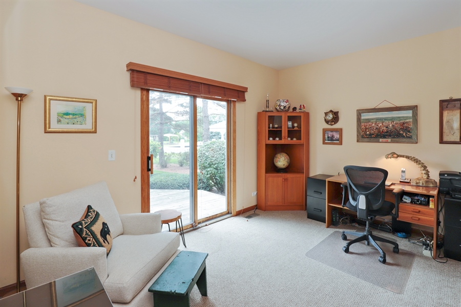 Real Estate Photography - 36473 N. Mill Creek Drive, Gurnee, IL, 60031 - 4th bedroom on 1st floor