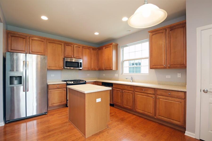 Real Estate Photography - 2839 Edgewater Drive, Elgin, IL, 60124 - KITCHEN--Tons of cabinet space!!