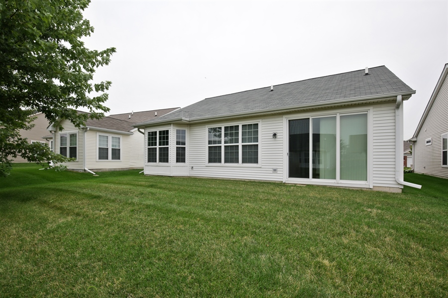 Real Estate Photography - 2839 Edgewater Drive, Elgin, IL, 60124 - REAR VIEW
