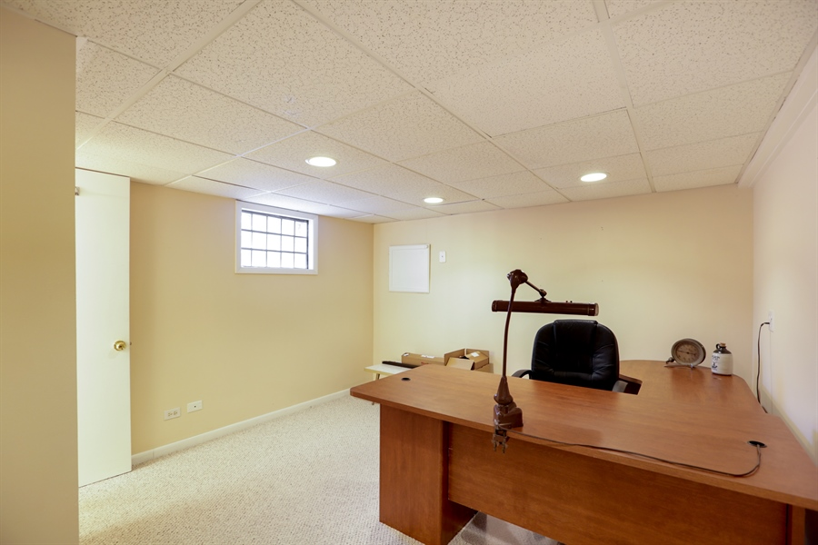 Real Estate Photography - 302 Rosewood Avenue, Buffalo Grove, IL, 60089 - Office