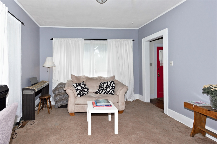 Real Estate Photography - 328 E. 9th Street, Lockport, IL, 60441 - Living Room