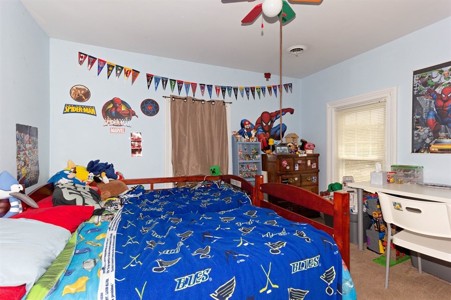 Real Estate Photography - 328 E. 9th Street, Lockport, IL, 60441 - Bedroom