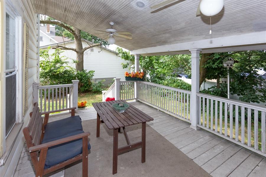 Real Estate Photography - 328 E. 9th Street, Lockport, IL, 60441 - Porch