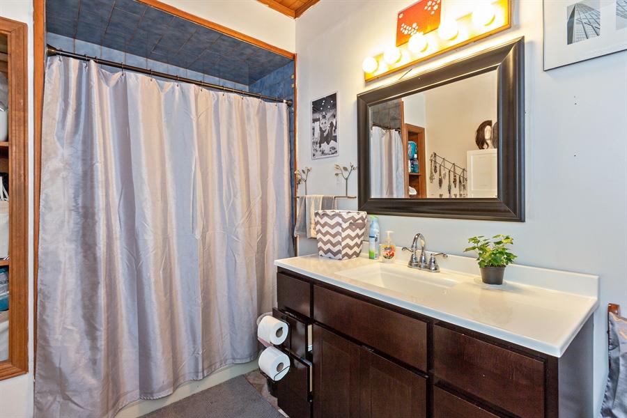 Real Estate Photography - 328 E. 9th Street, Lockport, IL, 60441 - Bathroom