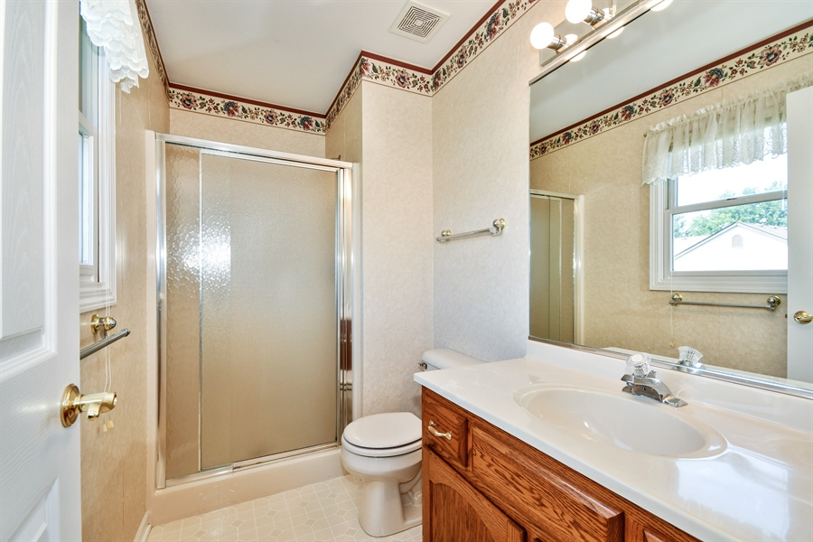 Real Estate Photography - 444 Banbury Avenue, Elburn, IL, 60119 - Master Bathroom
