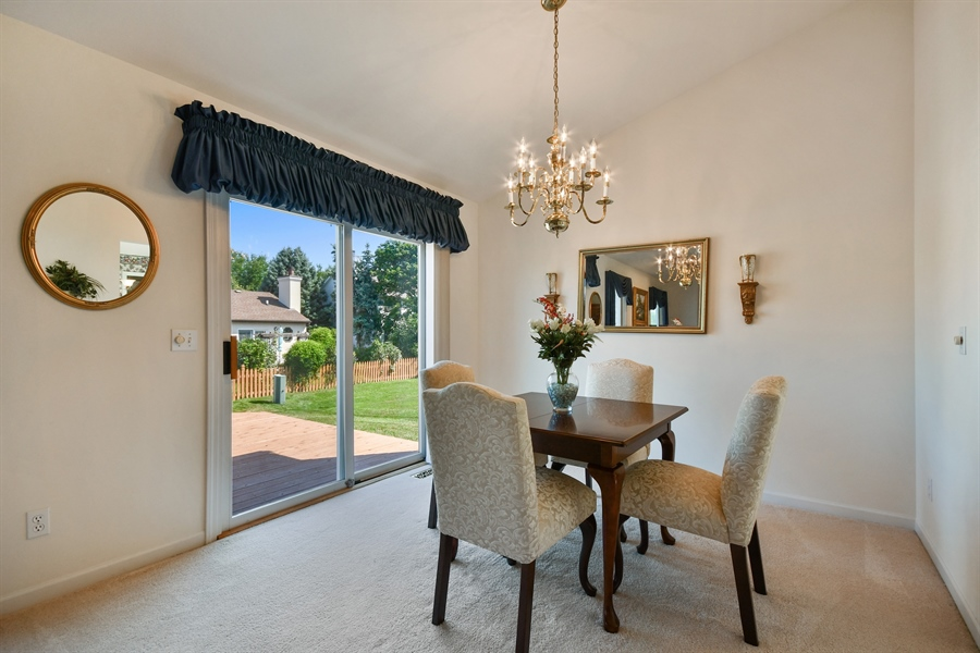 Real Estate Photography - 444 Banbury Avenue, Elburn, IL, 60119 - Dining Room