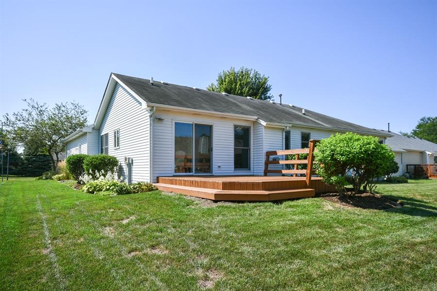 Real Estate Photography - 444 Banbury Avenue, Elburn, IL, 60119 - Rear View