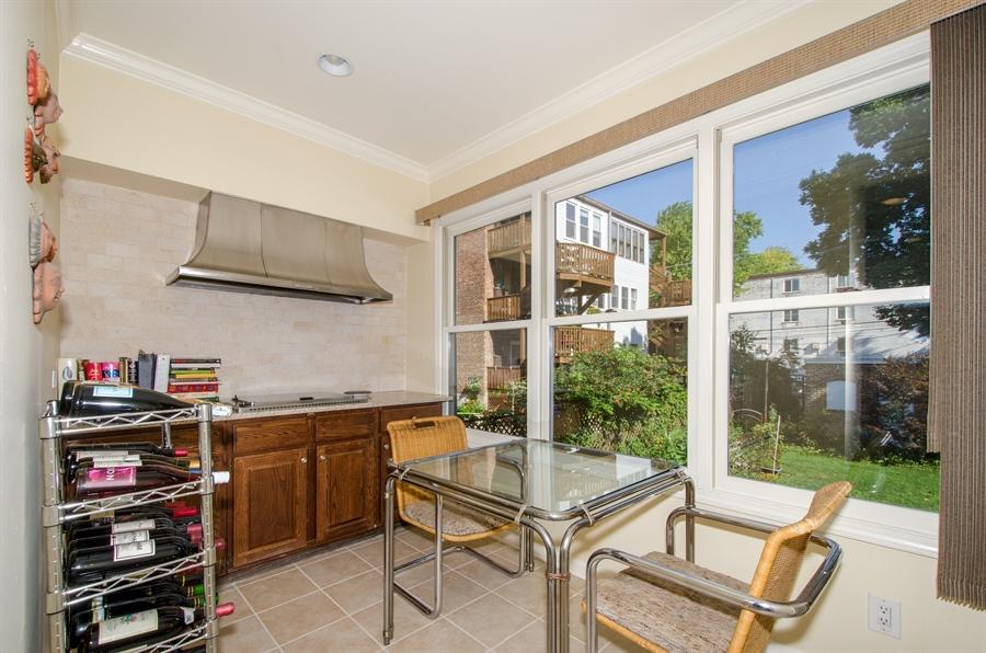 Real Estate Photography - 1436 W. PRATT Boulevard, Unit 1W, Chicago, IL, 60626 - Breakfast Area