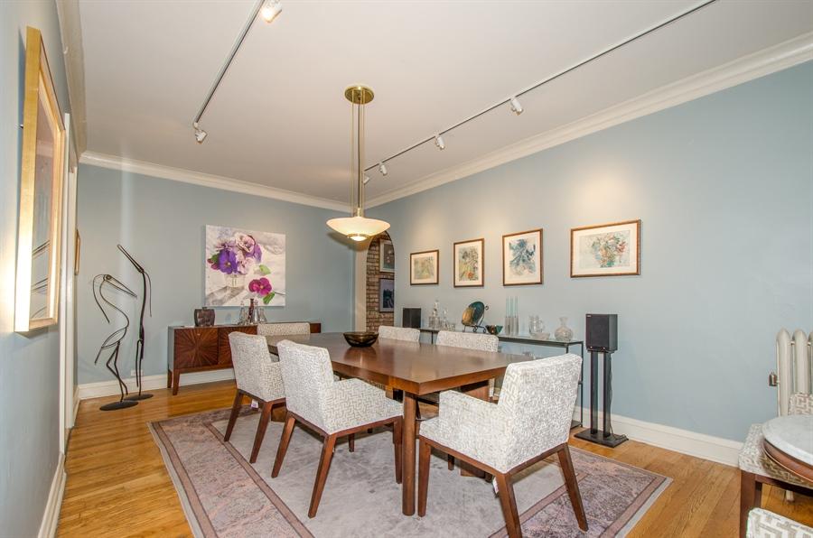 Real Estate Photography - 1436 W. PRATT Boulevard, Unit 1W, Chicago, IL, 60626 - Dining Area