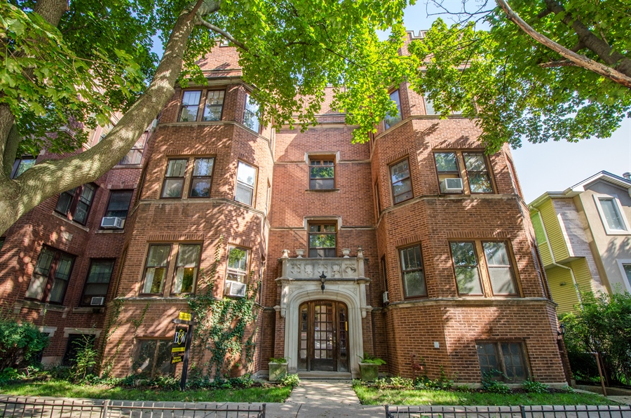 Real Estate Photography - 1436 W. PRATT Boulevard, Unit 1W, Chicago, IL, 60626 - Front View