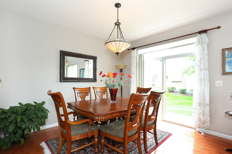 Real Estate Photography - 2972 WHITE THORN Circle, Naperville, IL, 60564 - Dining Room