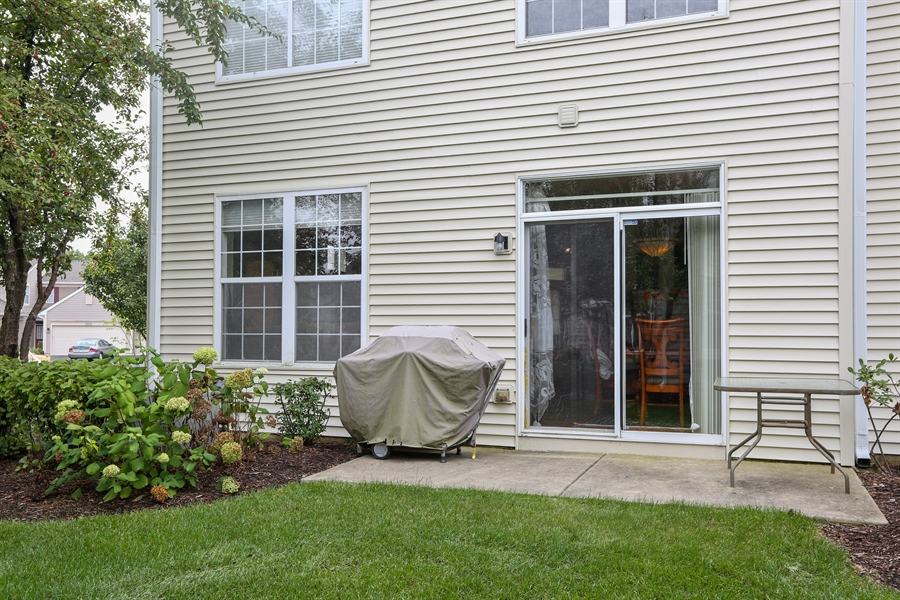 Real Estate Photography - 2972 WHITE THORN Circle, Naperville, IL, 60564 - Rear View