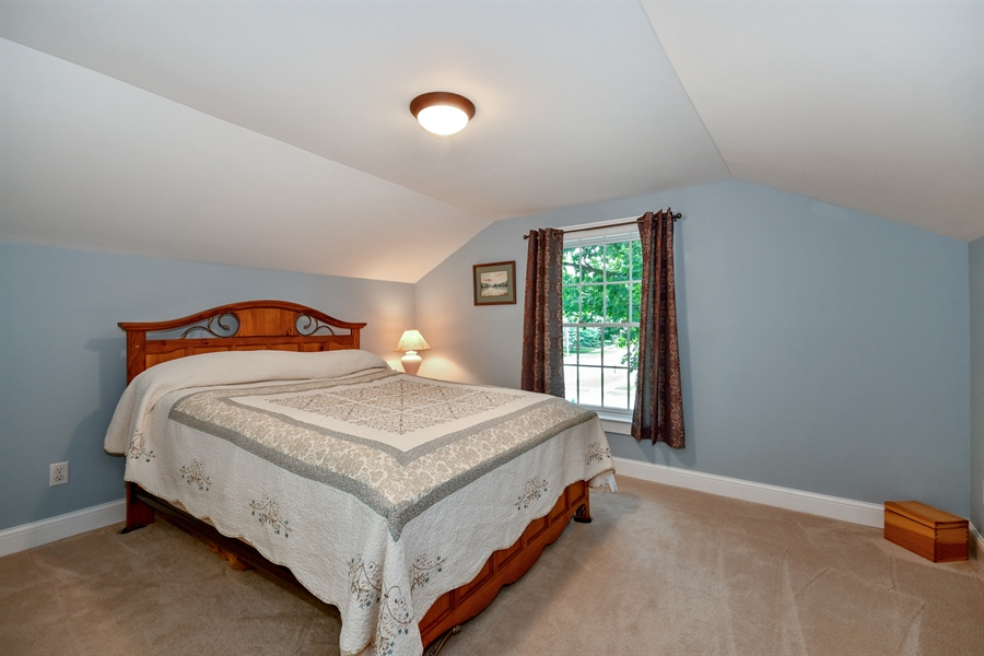 Real Estate Photography - 306 N. Van Buren Street, Batavia, IL, 60510 - Master Bedroom