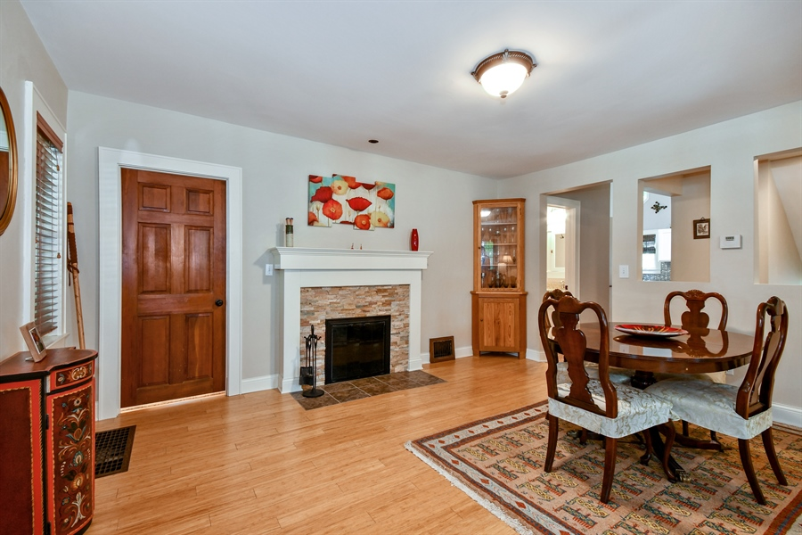 Real Estate Photography - 306 N. Van Buren Street, Batavia, IL, 60510 - Dining Room