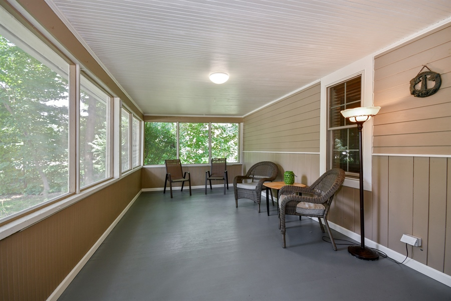 Real Estate Photography - 306 N. Van Buren Street, Batavia, IL, 60510 - Porch