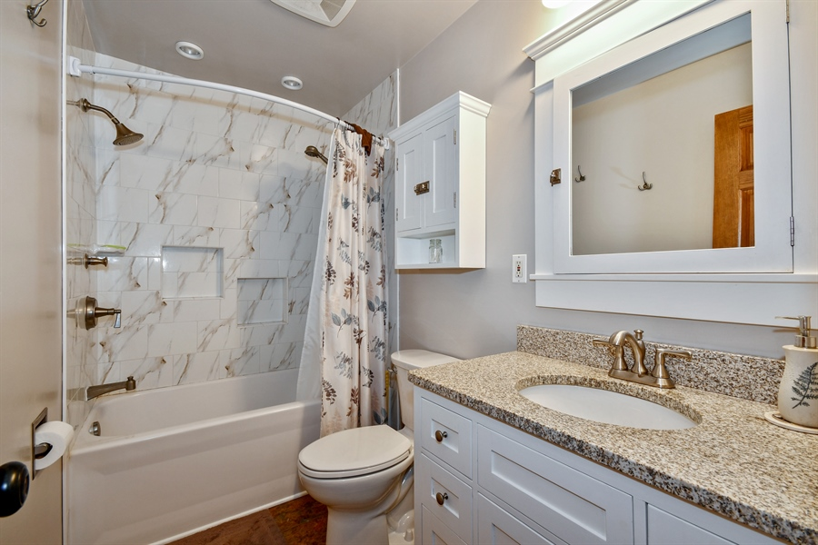 Real Estate Photography - 306 N. Van Buren Street, Batavia, IL, 60510 - 2nd Bathroom