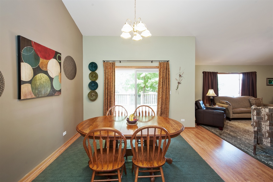 Real Estate Photography - 809 ROSE Lane, Harvard, IL, 60033 - Dining Room