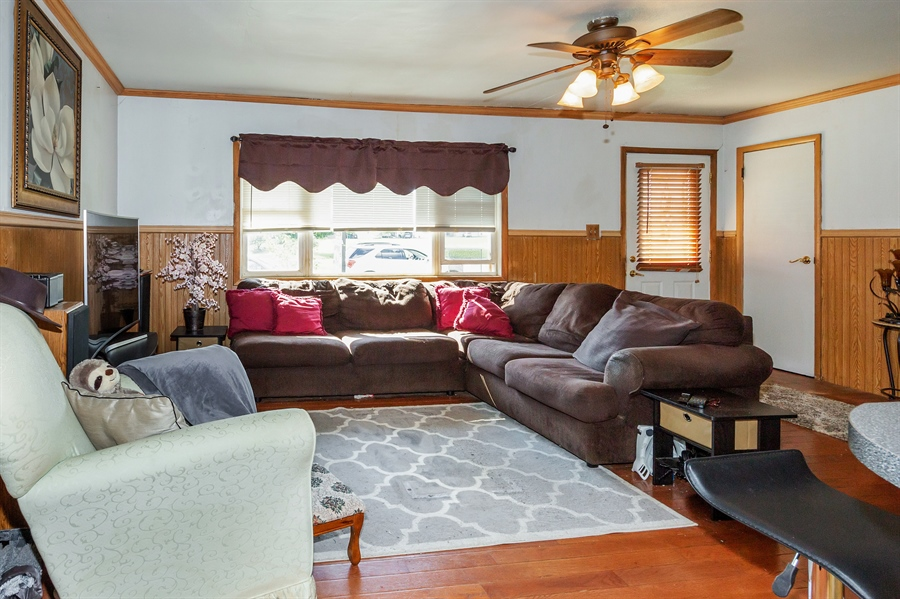 Real Estate Photography - 719 Rogers Road, Romeoville, IL, 60446 - Living Room