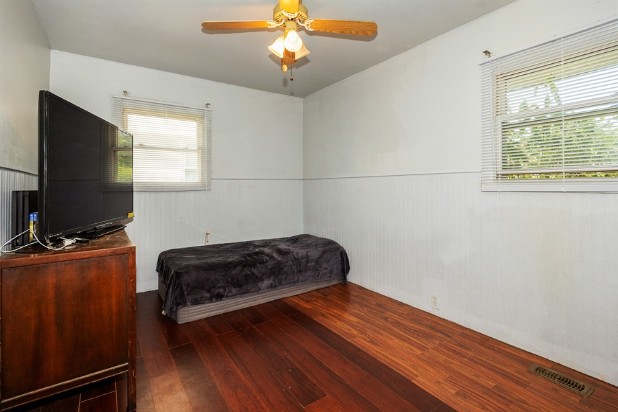 Real Estate Photography - 719 Rogers Road, Romeoville, IL, 60446 - 2nd Bedroom