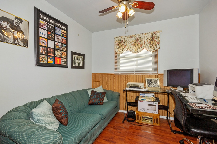 Real Estate Photography - 719 Rogers Road, Romeoville, IL, 60446 - 3rd Bedroom