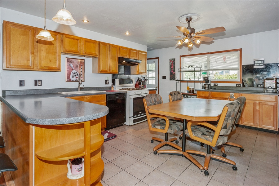 Real Estate Photography - 719 Rogers Road, Romeoville, IL, 60446 - Kitchen / Breakfast Room