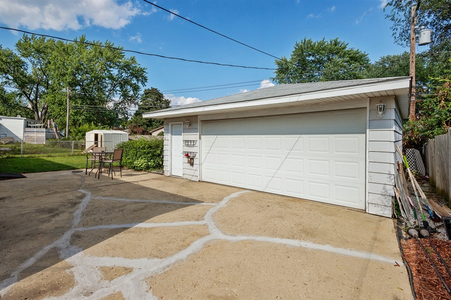 Real Estate Photography - 719 Rogers Road, Romeoville, IL, 60446 - Garage