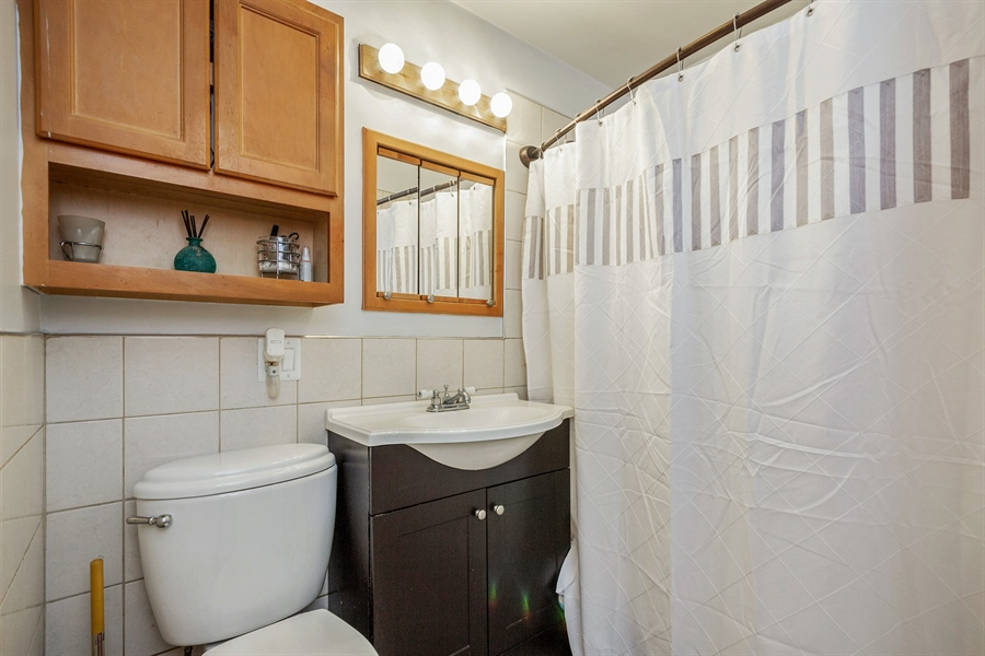Real Estate Photography - 719 Rogers Road, Romeoville, IL, 60446 - Bathroom