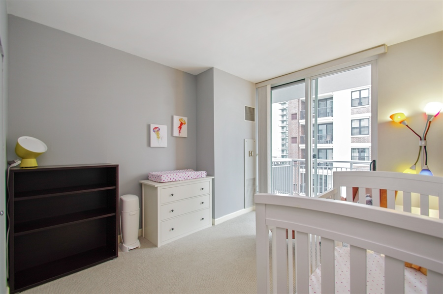 Real Estate Photography - 421 W. Huron Street, Unit 1001, Chicago, IL, 60654 - 2nd Bedroom