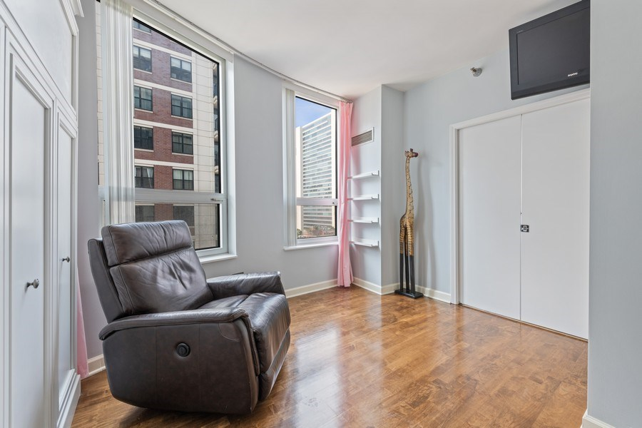 Real Estate Photography - 421 W. Huron Street, Unit 1001, Chicago, IL, 60654 - 3rd Bedroom
