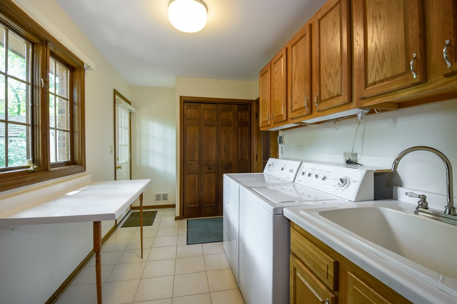 Real Estate Photography - 4721 WOODLAND Court, Rolling Meadows, IL, 60008 - Laundry Room
