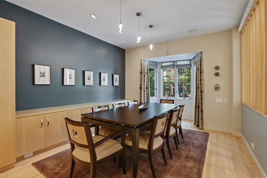 Real Estate Photography - 2757 N. Kenmore Avenue, Chicago, IL, 60614 - Dining Room