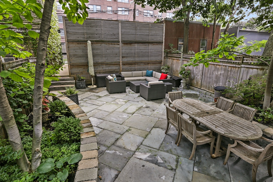 Real Estate Photography - 2757 N. Kenmore Avenue, Chicago, IL, 60614 - Back Yard