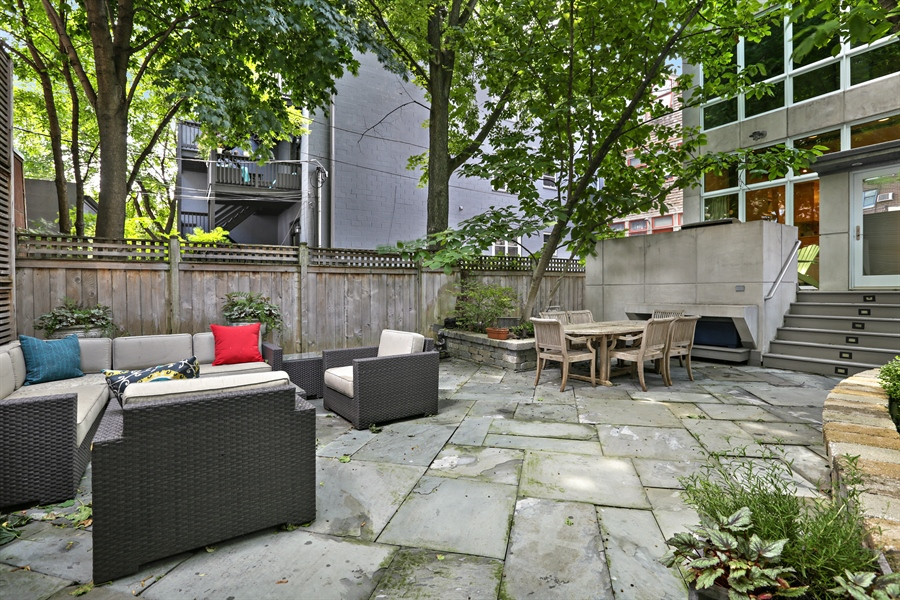 Real Estate Photography - 2757 N. Kenmore Avenue, Chicago, IL, 60614 - Patio