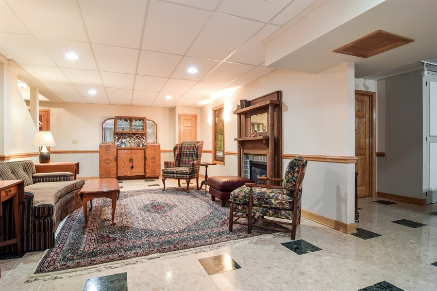 Real Estate Photography - 427 Lauder Ln, Inverness, IL, 60067 - Basement Game Room