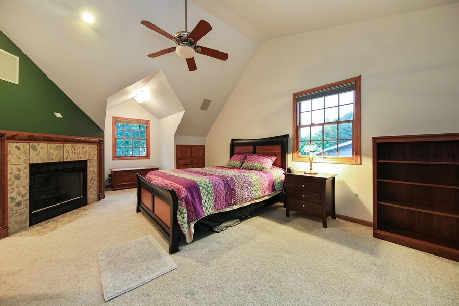 Real Estate Photography - 5629 Brookbank Road, Downers Grove, IL, 60516 - Master Bedroom