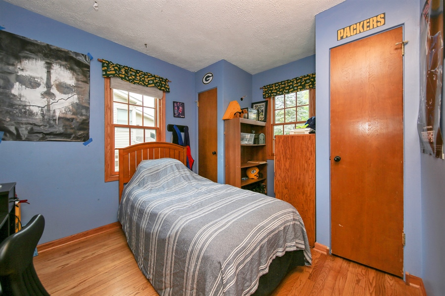 Real Estate Photography - 5629 Brookbank Road, Downers Grove, IL, 60516 - 3rd Bedroom