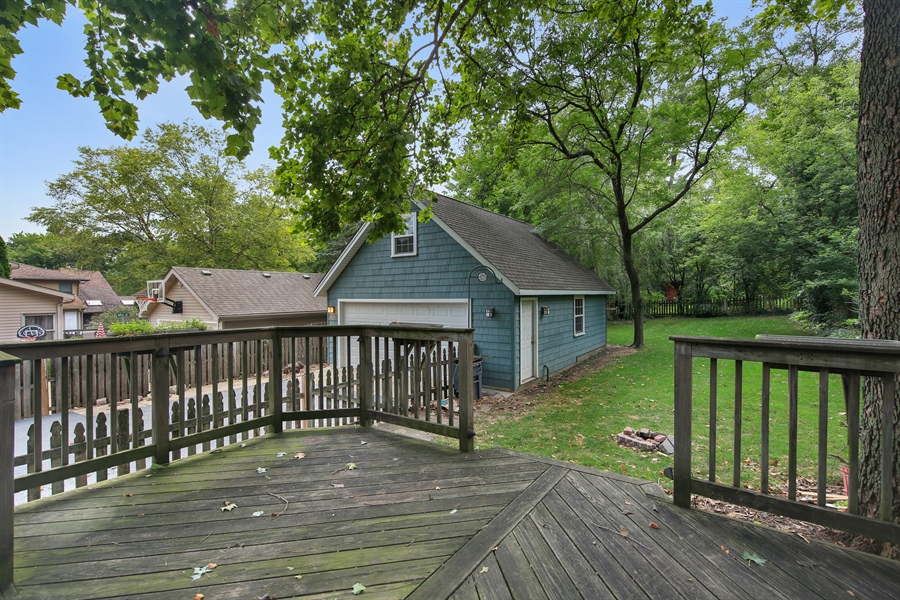 Real Estate Photography - 5629 Brookbank Road, Downers Grove, IL, 60516 - Back Yard